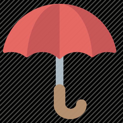 insurance, protect, rain, umbrella icon
