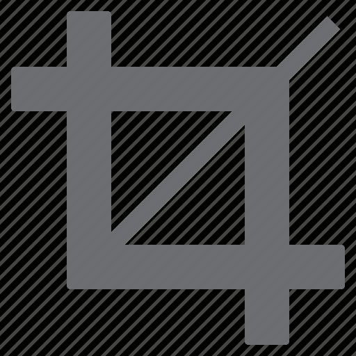 crop, image, imaging, shape, tool icon