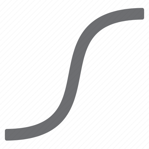 curve, draw, imaging, tool icon