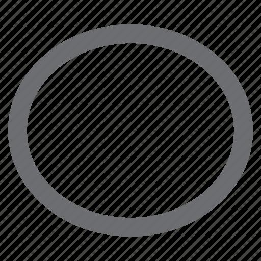 draw, ellipse, imaging, tool icon