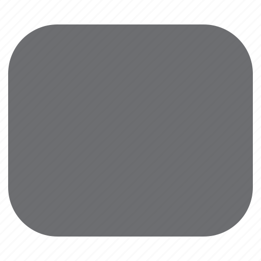 draw, filled, imaging, rectangle, rounded, tool icon