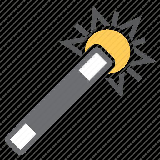 imaging, magic, tool, wand icon