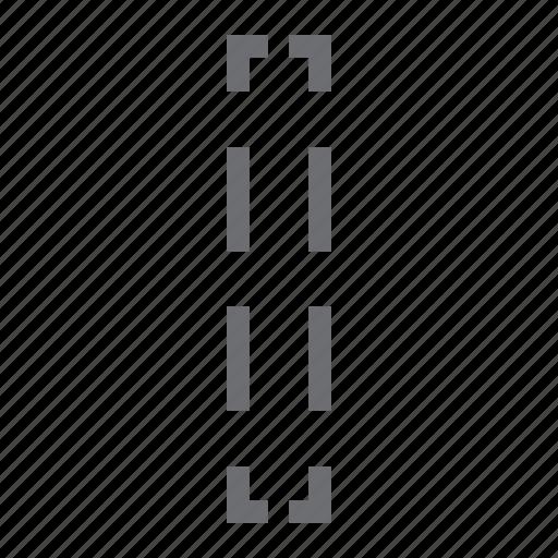 column, imaging, select, selection, single, tool icon