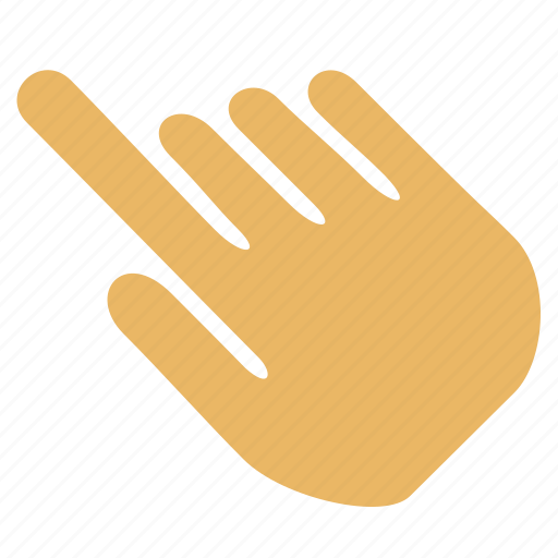 finger, hand, imaging, smudge, tool icon