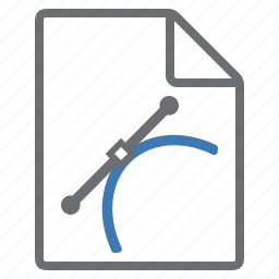 create, extension, file, graphics, imaging, new, vectors icon