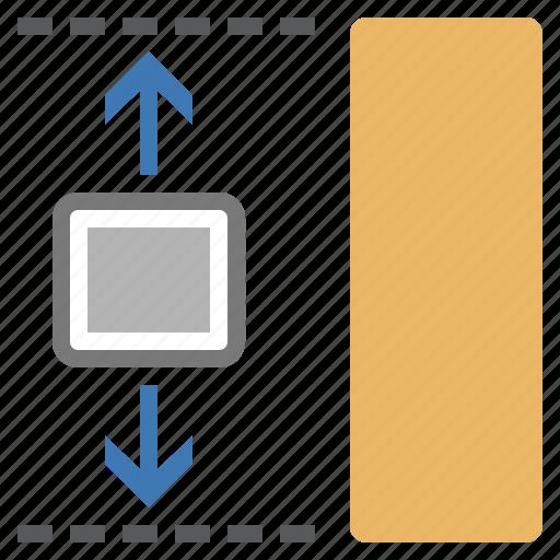 height, image, imaging, set, size icon