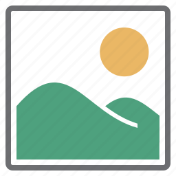 imaging, picture icon