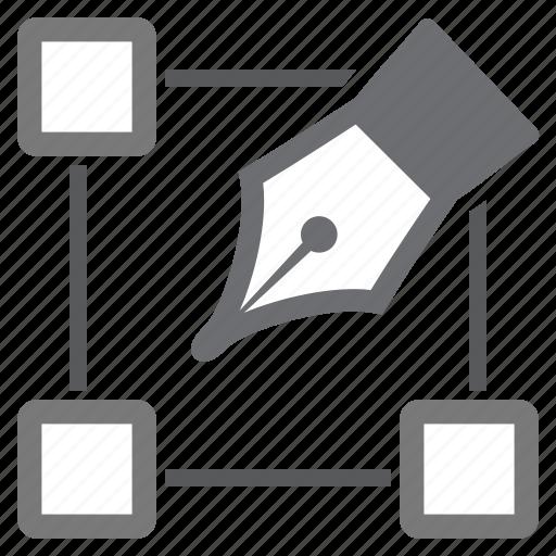 edit, imaging, points, set, shape icon