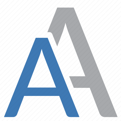 alphabet, choice, choose, fonts, imaging, text icon