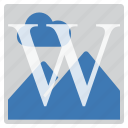 imaging, watermark icon