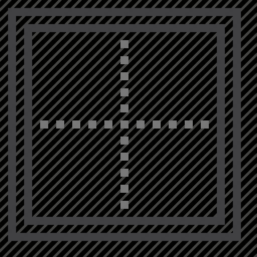 border, cell, double icon