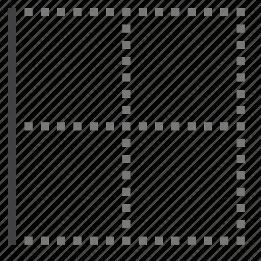 border, cell, left icon