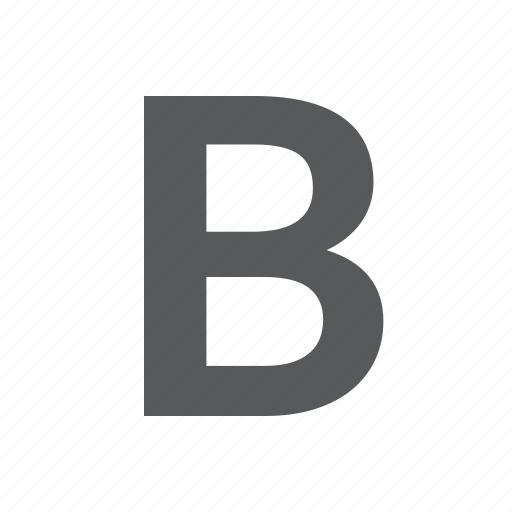 bold, character, mode, small, style, text icon