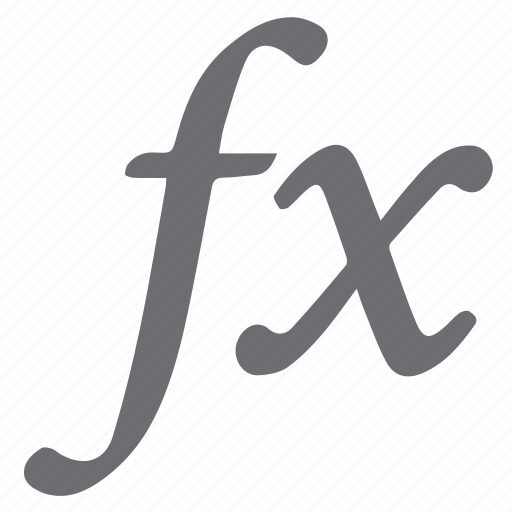effects, formulas, functions, mathematics icon