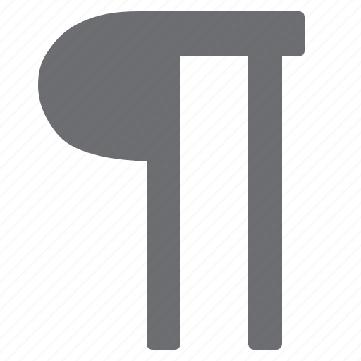 marker, paragraph, structure icon