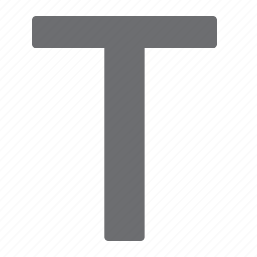 letter, police, style, text, type icon