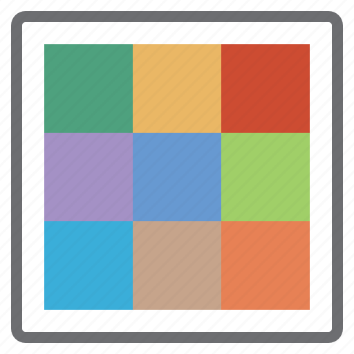 choice, choose, colors, palette, processing, rainbow, word icon