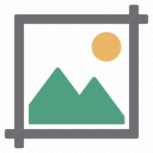 crop, document, image, modify, photo, picture, processing icon