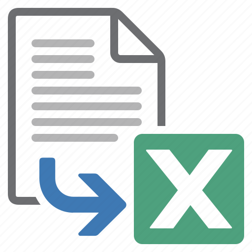 document, export, file, processing, spreadsheet, word icon