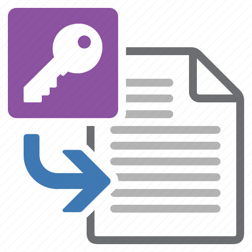 database, document, file, import, information, insert, processing icon