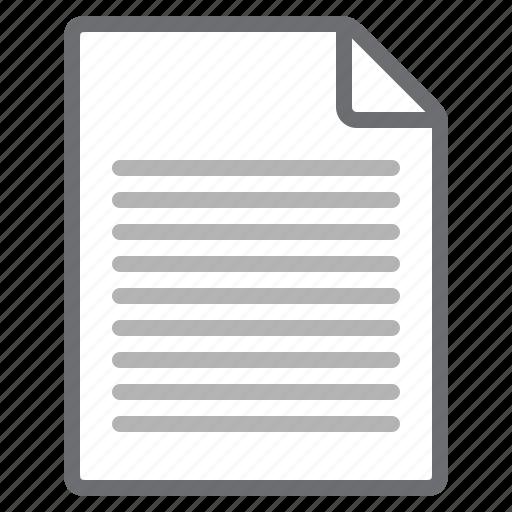 content, document, orientation, portrait, processing, word icon