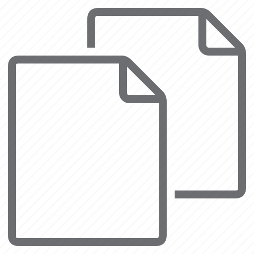 blank, create, empty, new, pages, portrait, processing icon
