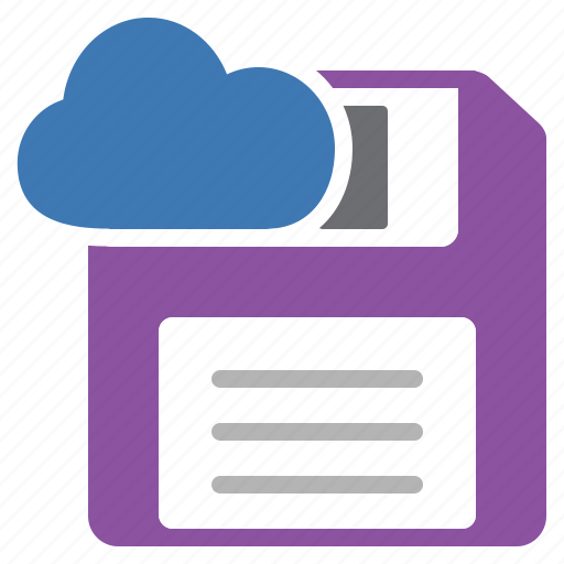 cloud, data, file, in, save, storage icon