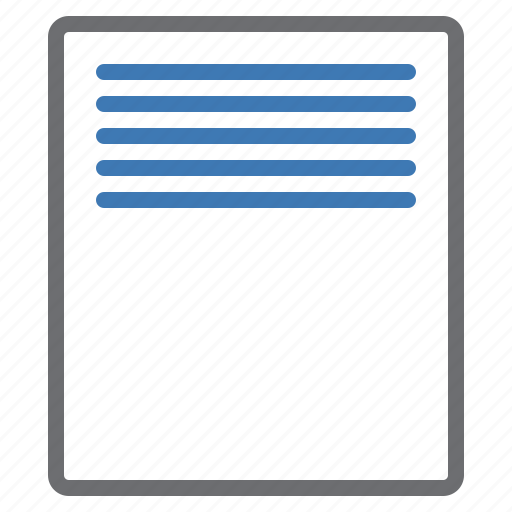 align, configuration, page, text, top, vertical icon