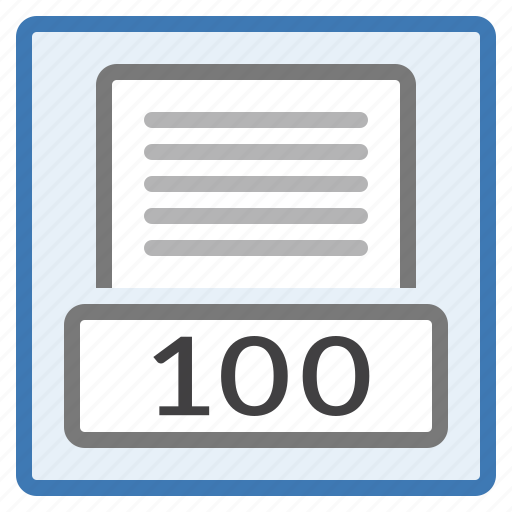 base, hundred, one, page, percent, view, zoom icon