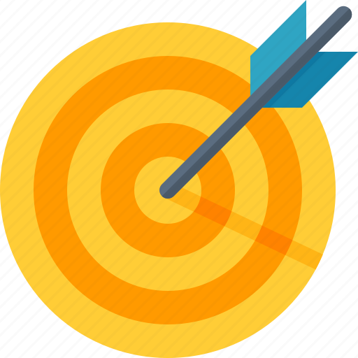 business goal, dartboard, darts, efficiency, target icon