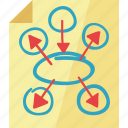 business plan, planning, strategy icon