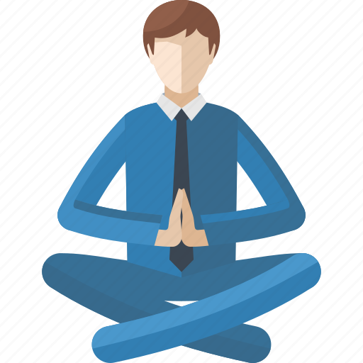 Lotus position, meditation, relax, yoga icon | Icon search ...