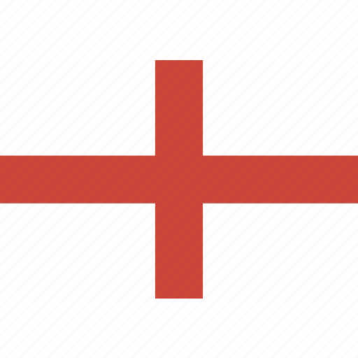 england, rectangle, round icon