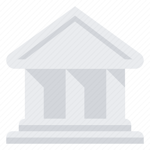 architecture, bank, building, finance, library icon