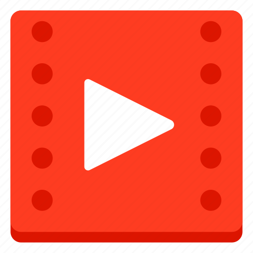 film, movie, tv, video, watch, youtube icon