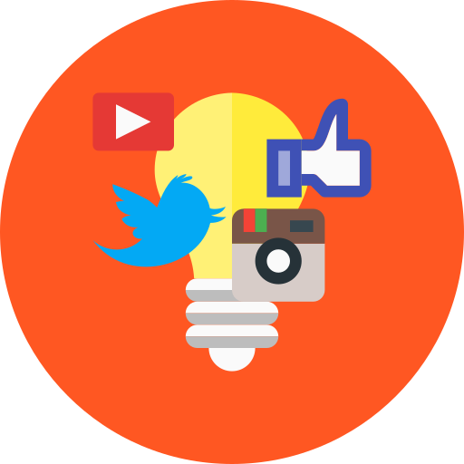 campaign, media, social icon