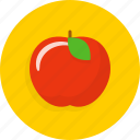 apple, fruit, knowledge, school icon