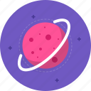astronomy, knowledge, planet, school, space icon