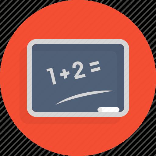 board, foundation, knowledge, math, school icon