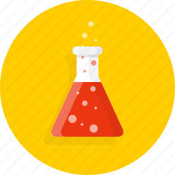 chemistry, knowledge, school icon