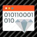 application, clear, code, custom, development, programming icon