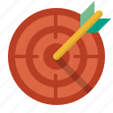 aim, goal, success, target, targeting icon