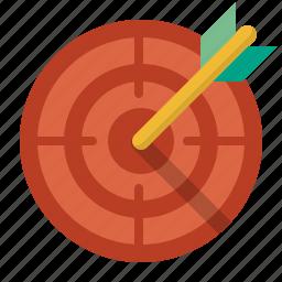 achievement, aim, archery, aspirations, bullseye, business, center, circle, dartboard, darts, efficiency, goal, kill, mark, market, marketing, purpose, shoot, success, target, targeting icon