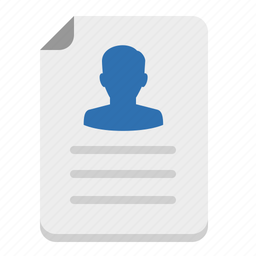 account, applicant, application, condidate, cover, curriculum, cv, document, file, folio, form, id, job, letter, paper, person, portfolio, profile, reference, resume, seo, sheet, user, vacancy, vitae icon