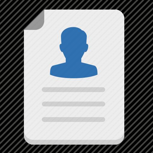 application, portfolio, reference, resume, vacancy icon