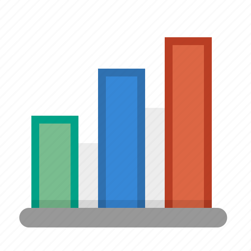 analytics, bar chart, infographic, profit, sales report icon