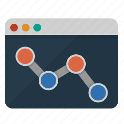 analysis, analytics, bar, browser, business, chart, charts, diagram, economy, finance, graph, internet, marketing, monitoring, network, online, presence, productivity, progress, report, seo, statistics, success, usage, web, web monitoring icon