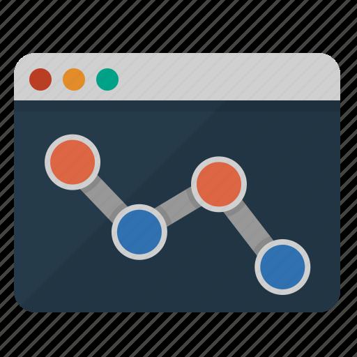 analysis, analytics, bar, browser, business, chart, charts, diagram, economy, finance, graph, internet, marketing, monitoring, network, online, presence, productivity, progress, report, seo, statistics, success, usage, web, web monitoring icon