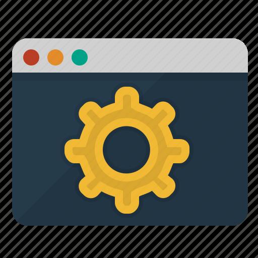 browser, codding, marketing, optimization, settings icon