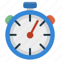 countdown, performance, stopwatch, time management icon